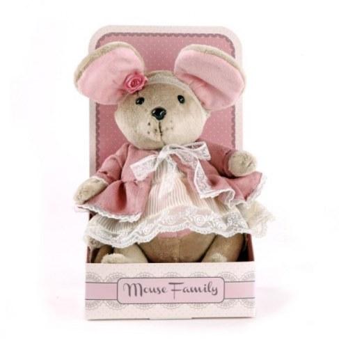 Мягкая игрушка Fluffy Family Мышка Розочка 681203 в Ярославле