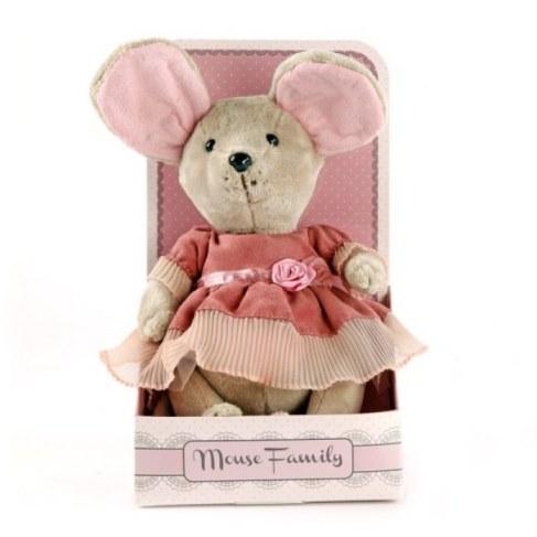 Мягкая игрушка Fluffy Family Мышка Лакомка 681201 в Ярославле