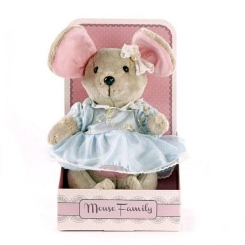 Мягкая игрушка Fluffy Family Мышка Капелька 681209 в Ярославле
