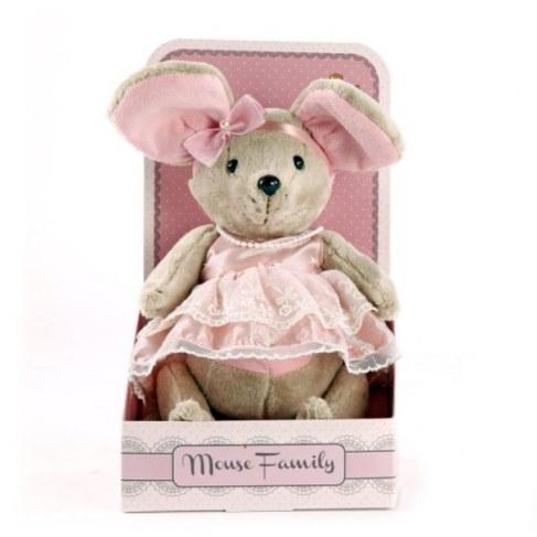 Мягкая игрушка Fluffy Family Мышка Зефирка 681202 в Ярославле