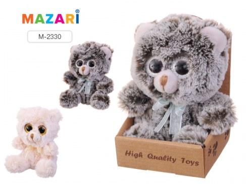 Мягкая игрушка Mazari Медвежонок с бантиком с большими глазами M-2330 в Ярославле