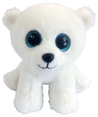 Мягкая игрушка ABtoys Медвежонок полярный белый 15 см M0045 в Ярославле