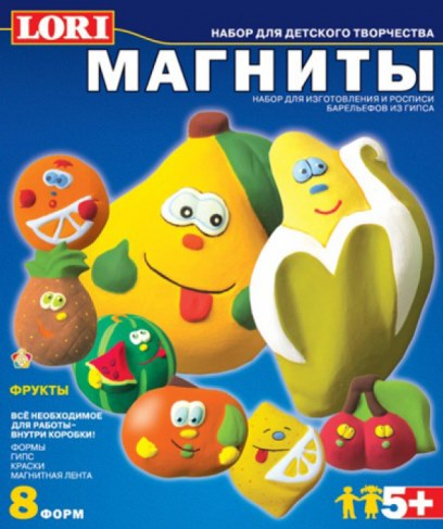 Фигурки Lori М-005 на магнитах Фрукты в Ярославле