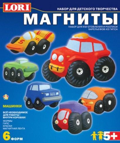 Фигурки Lori М-012 на магнитах Машинки в Ярославле
