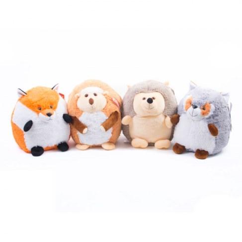 Мягкая игрушка Нижегородская игрушка Круглый зоопарк 23 см Cм-694-5 в Ярославле