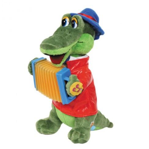 Мягкая игрушка Мульти-Пульти Крокодил Гена с аккордеоном, 24 см V40652-21MS26 в Ярославле