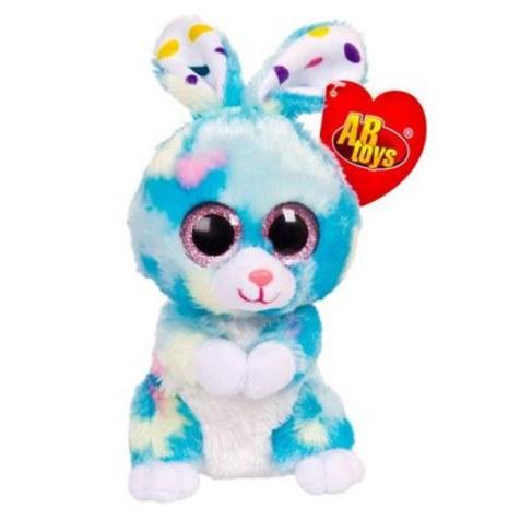 Мягкая игрушка Teddy Кролик голубой M0042 в Ярославле