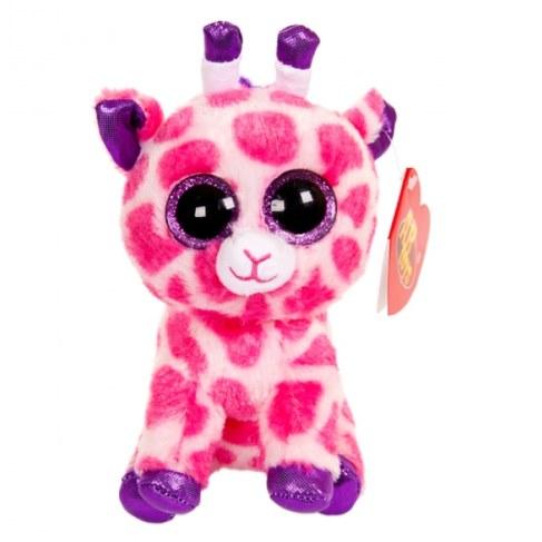 Мягкая игрушка ABtoysM Жираф розовый 15 см M0029 в Ярославле