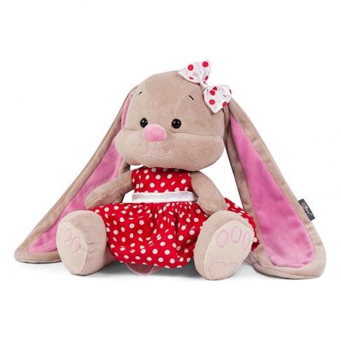 Мягкая игрушка MaxiToys Зайка Лин в красном платье, 25 см JL-023-25 в Ярославле