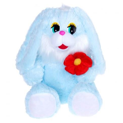 Мягкая игрушка Нижегородская игрушка Зайчик с цветком Cm-341-ц-5 в Ярославле