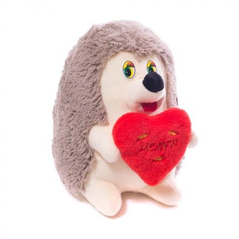Мягкая игрушка Нижегородская игрушка Ежик с сердцем (малый) Cм-726-5 в Ярославле