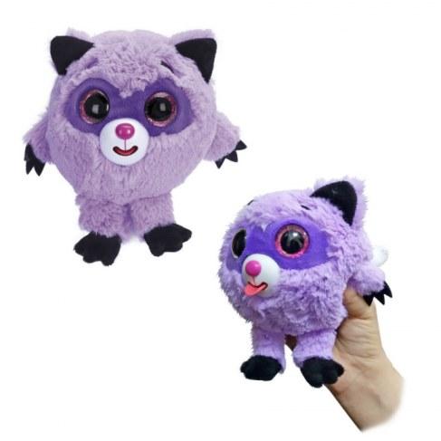 Мягкая игрушка 1toy Дразнюка-Zooка. Фиолетовый енот Т10353 в Ярославле