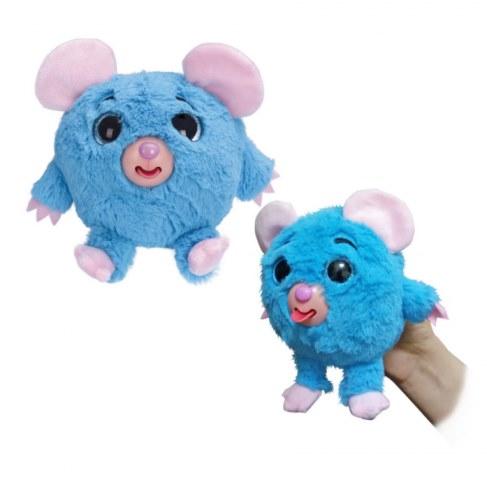 Мягкая игрушка 1toy Дразнюка-Zooка. Голубая мышка Т10350 в Ярославле