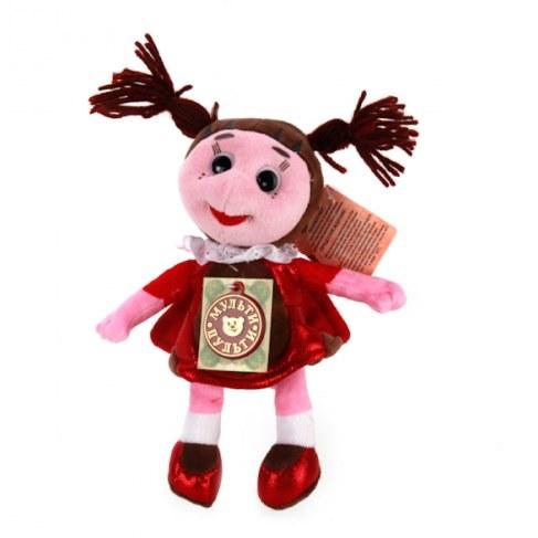 Мягкая игрушка Мульти-Пульти Божья коровка Мила (звук) V86346/21 в Ярославле