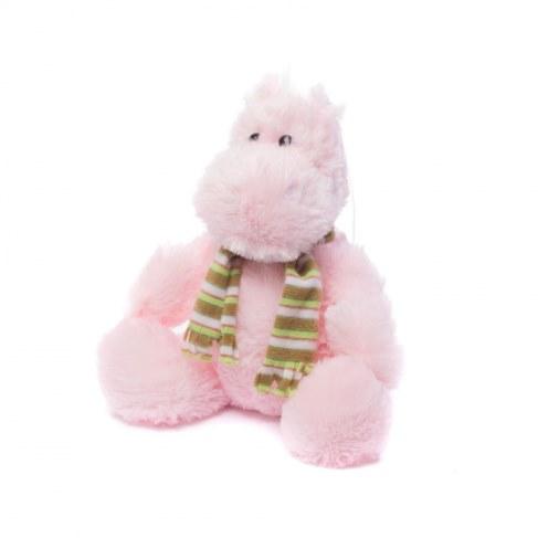 Мягкая игрушка Нижегородская игрушка Бегемотик в шарфе Cm-695-5 в Ярославле