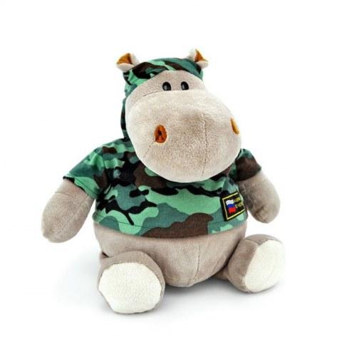 Мягкая игрушка Orange Бегемот Военный 27см МА2640/20Е в Ярославле