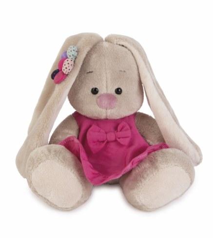 Мягкая игрушка BUDI BASA SidX - 144 Зайка Ми в розовом сарафанчике и ромашкой на ушке(малыш) в Ярославле