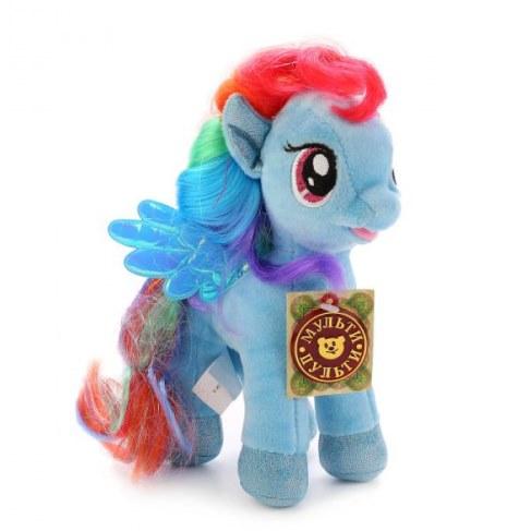 Мягкая игрушка Мульти-Пульти My Little Pony Пони Радуга 18см (звук) V27483/18 в Ярославле