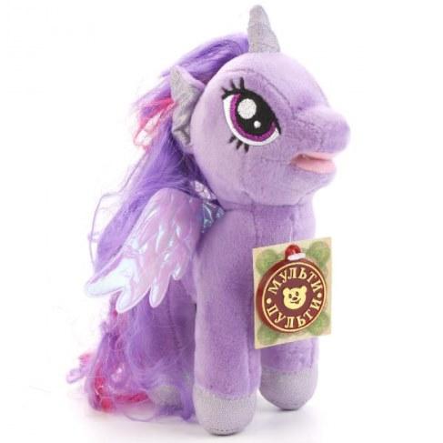 Мягкая игрушка Мульти-Пульти My Little Pony Искорка 18см (звук) V27478/18 в Ярославле