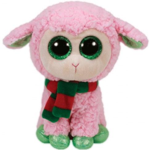 Мягкая игрушка TY Beanie Boos-Овечка розовая с шарфом 36969 в Ярославле