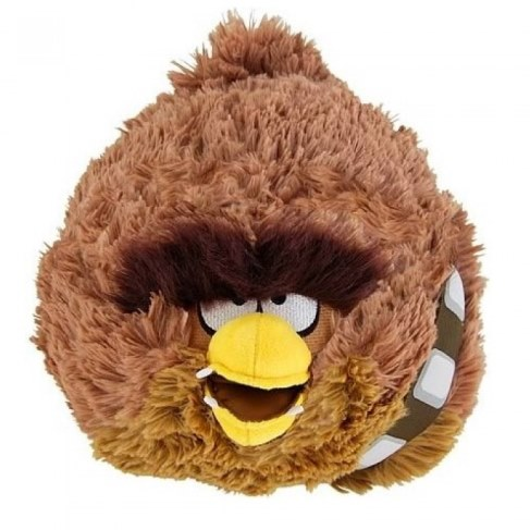 Мягкая игрушка 1toy Angry Birds Star Wars Чубака 12 см 93231 в Ярославле