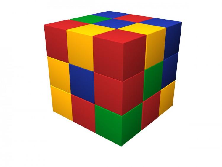 Мягкий конструктор «Кубик-рубик» ДМФ-МК-27.90.13 в Ярославле