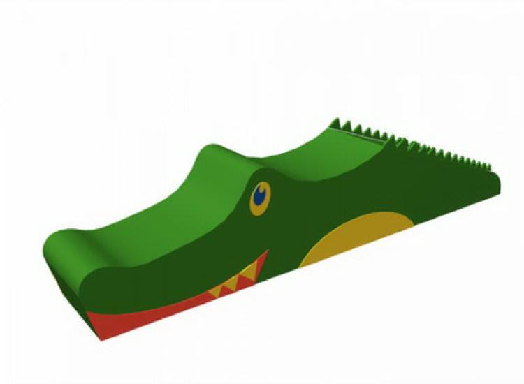 Мягкий комплекс «Крокодил» ДМФ-МК-01.41.00 в Ярославле
