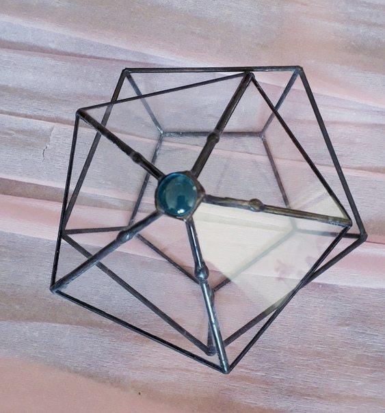 Необычная шкатулка из стекла в Ярославле