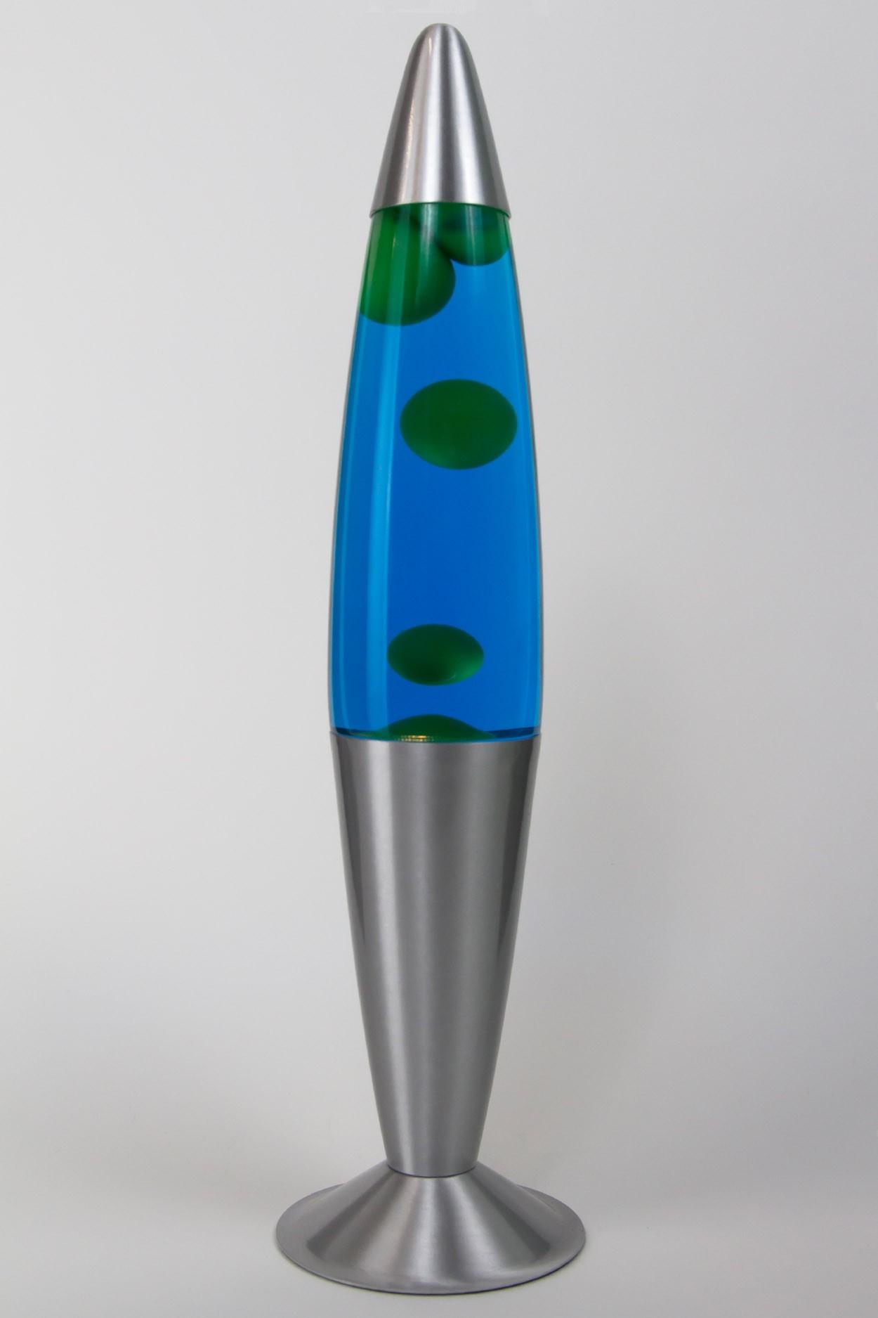 Лава-лампа 41см Зелёная/Синяя (Воск) в Ярославле