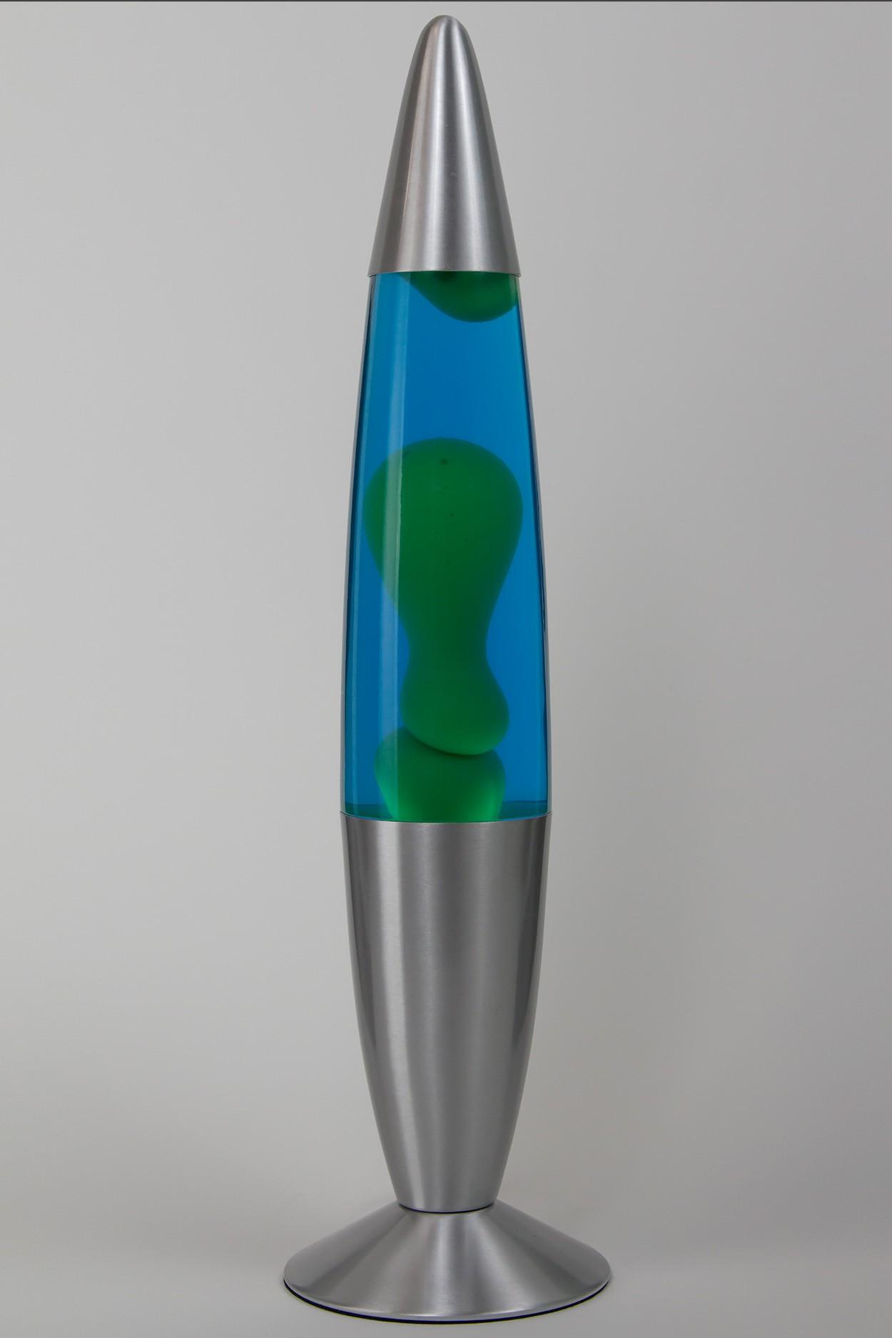 Лава-лампа 48см Зелёная/Синяя (Воск) в Ярославле