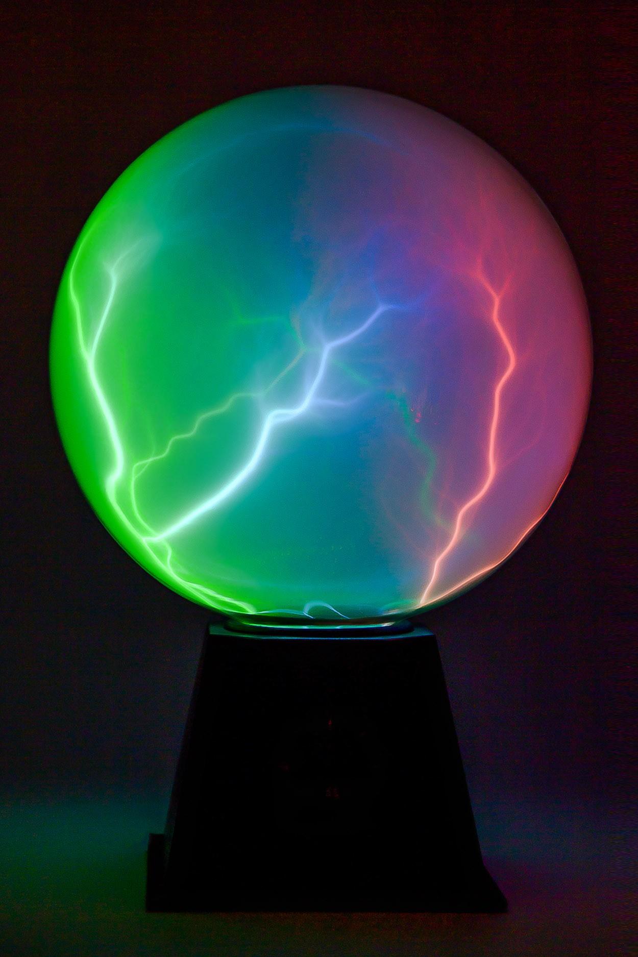 Плазменный шар Nebula 20см (Audio) в Ярославле