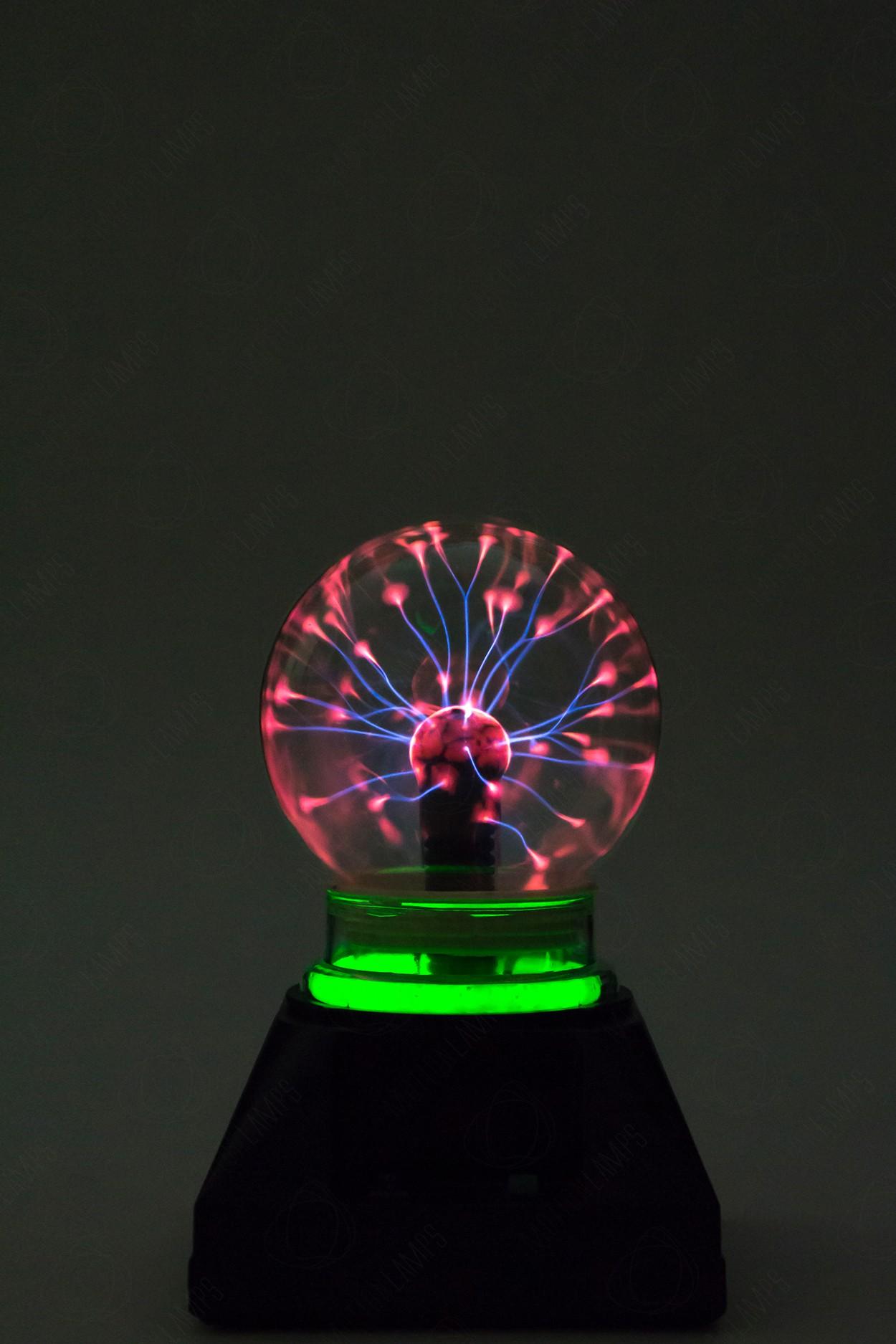 Электрический плазменный шар Тесла (D - 10см) Green в Ярославле