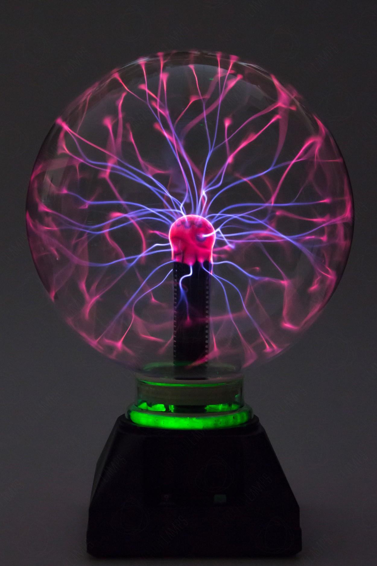 Электрический плазменный шар Тесла (D - 20см) Green в Ярославле