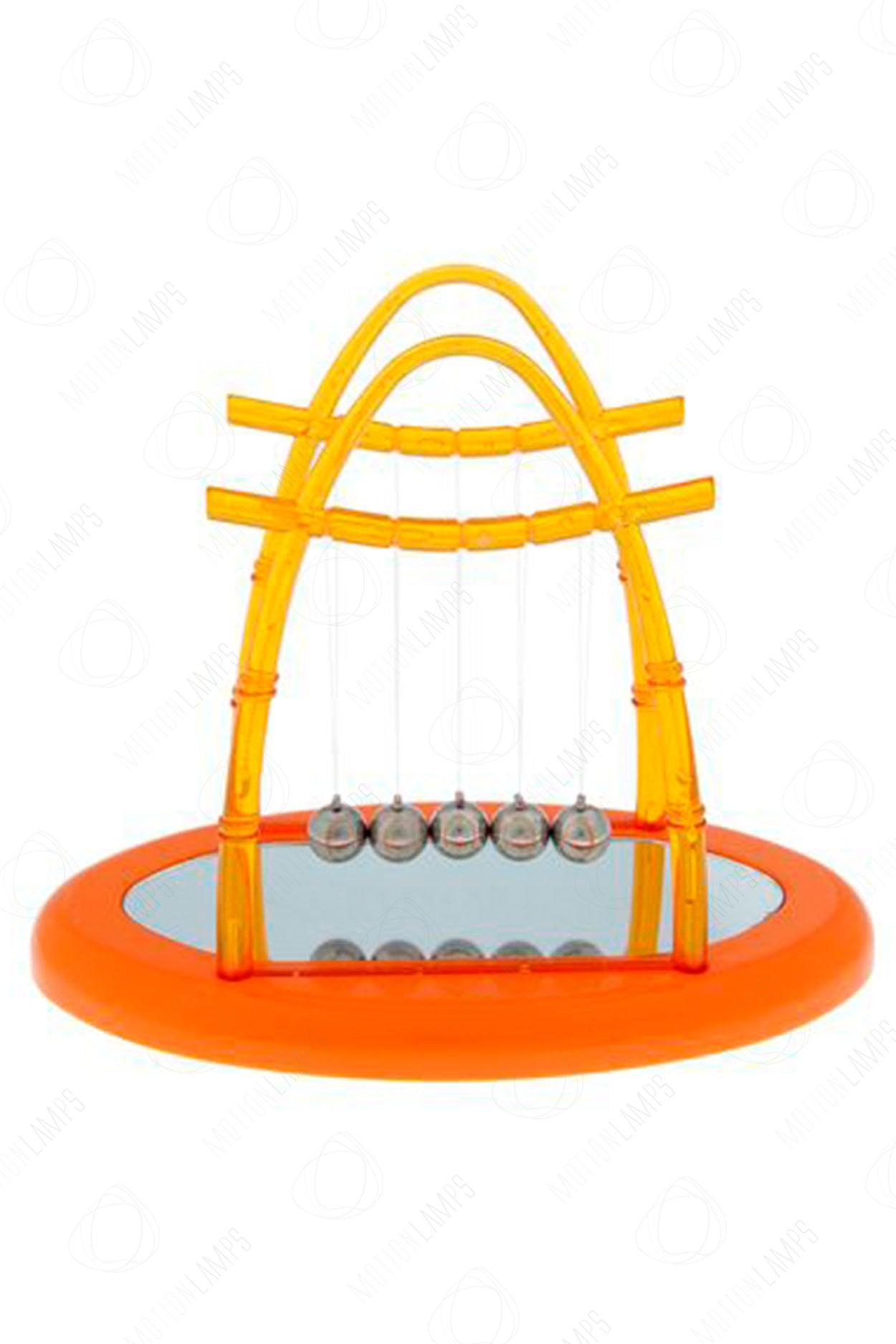 Кинетический маятник Ньютона A1 15см оранжевый в Ярославле