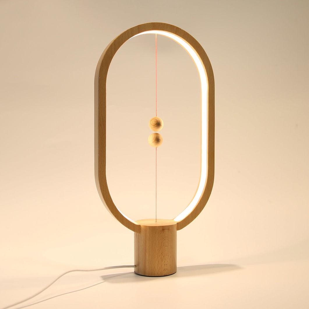Лампа настольная Heng balance (деревянная) в Ярославле