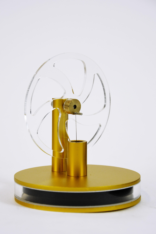 Двигатель Стирлинга на чашку (Золотой) в Ярославле