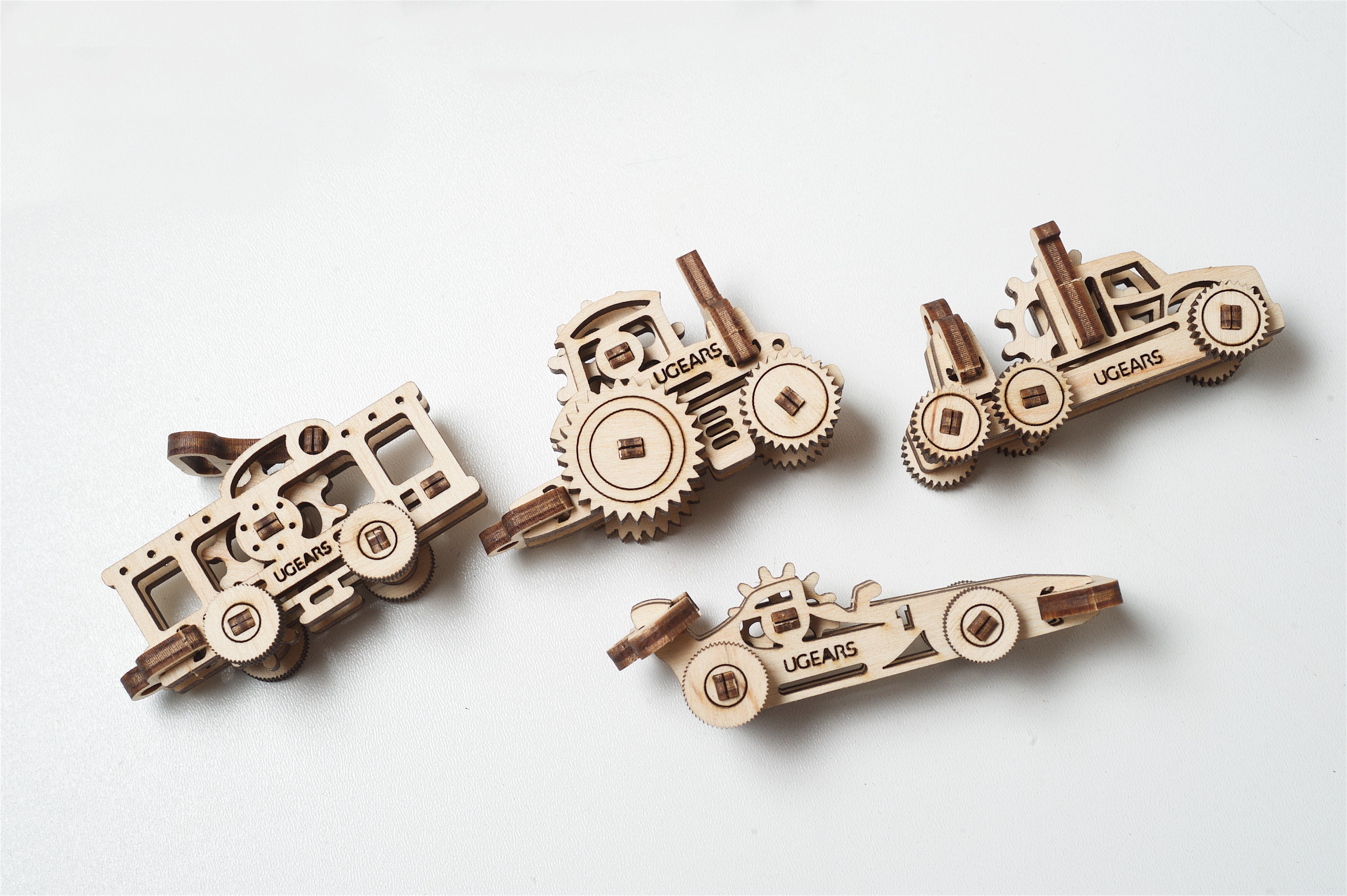 Конструктор 3D-пазл Ugears Фиджет Транспорт в Ярославле