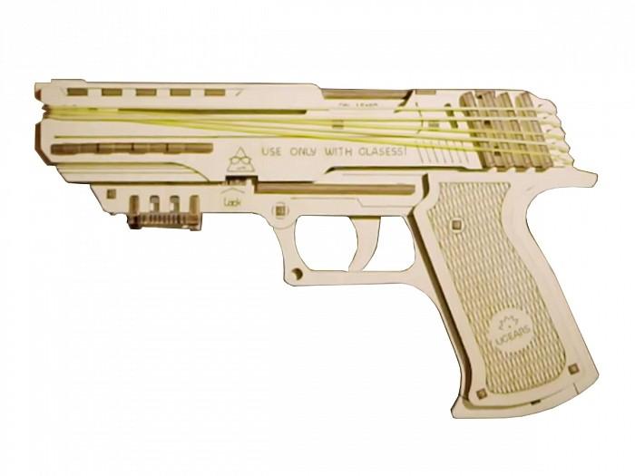 Конструктор 3D-пазл Ugears Пистолет Вольф-01 в Ярославле