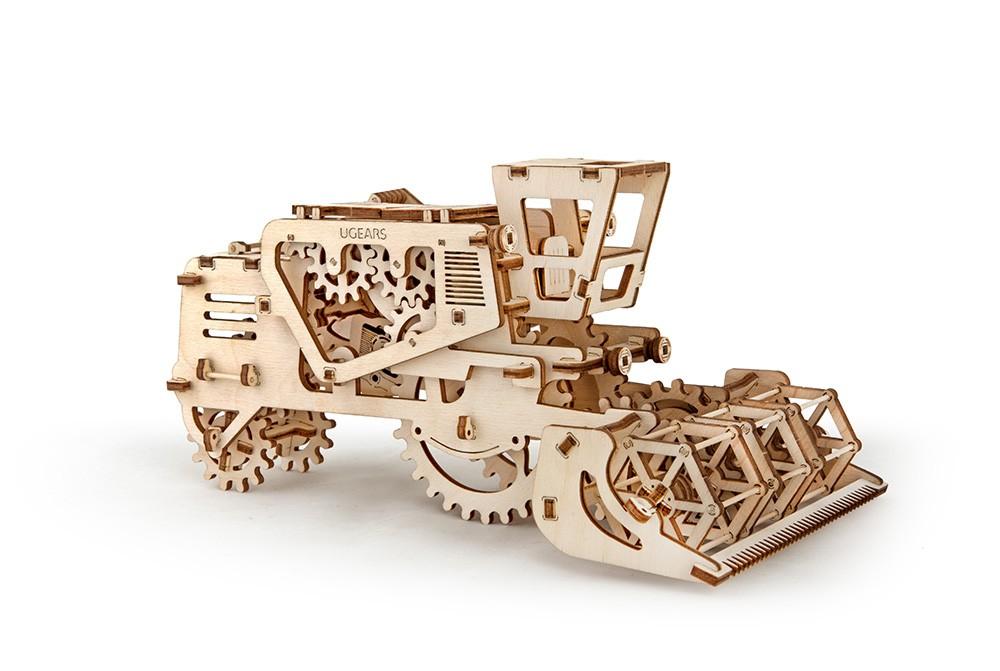 Конструктор 3D-пазл Ugears - Комбайн в Ярославле