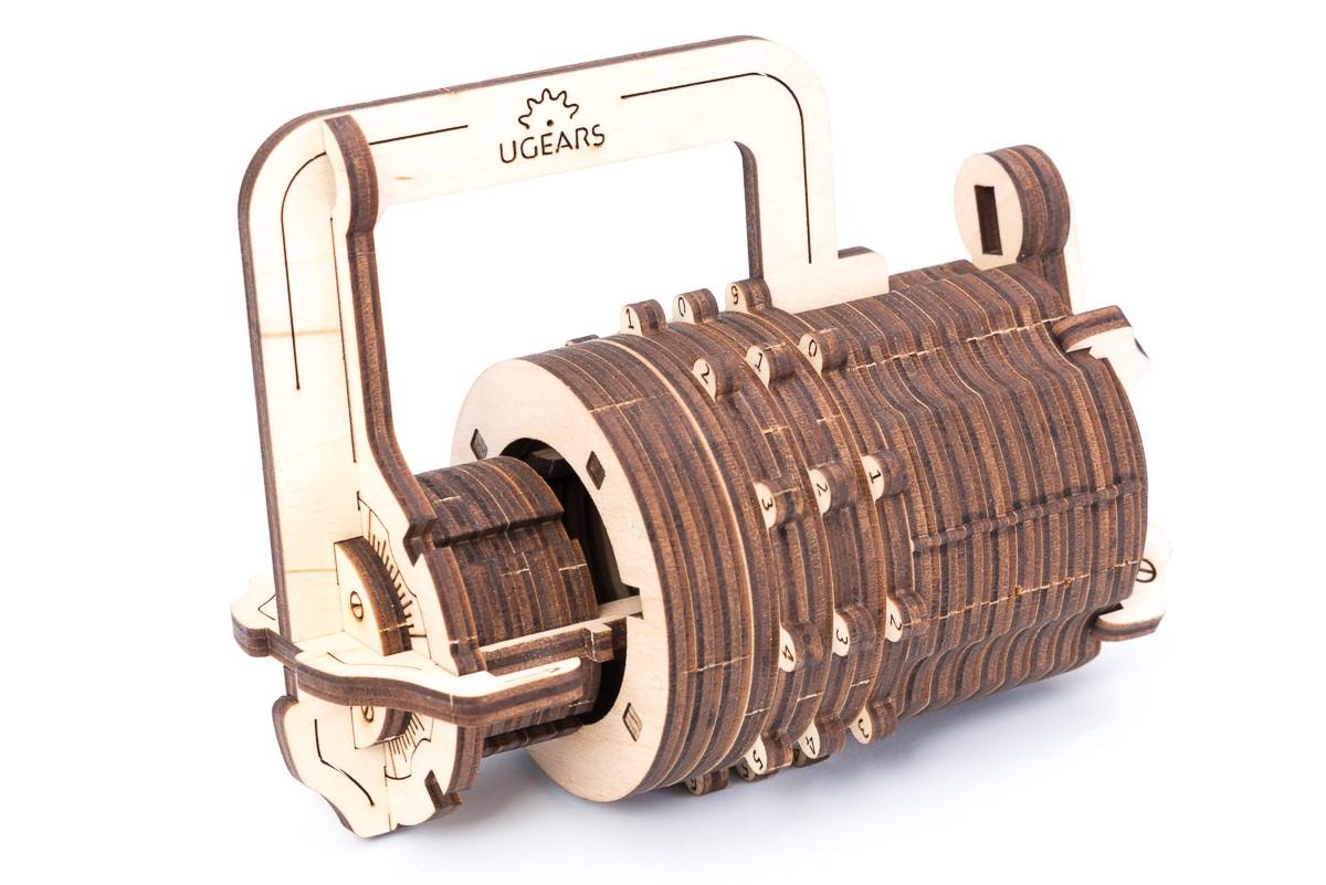 Конструктор 3D-пазл Ugears Кодовый Замок в Ярославле