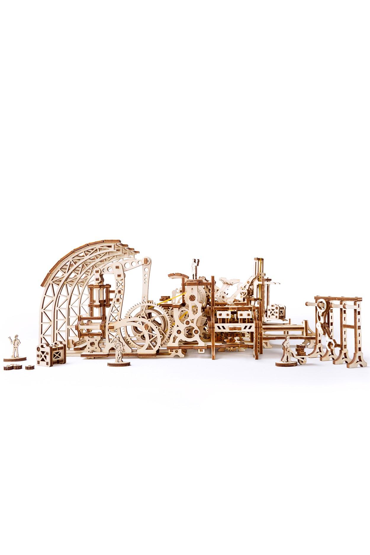 Конструктор 3D-пазл Ugears Фабрика роботов в Ярославле