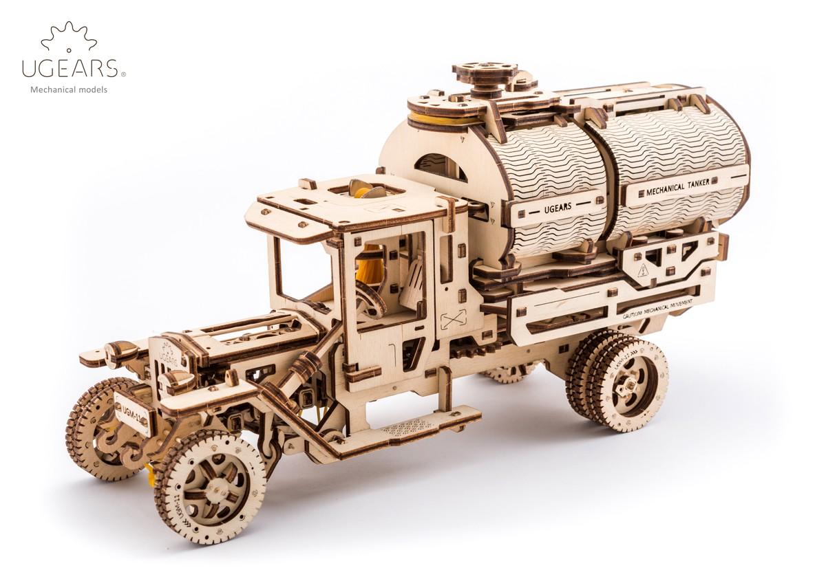 Конструктор 3D-пазл Ugears Автоцистерна в Ярославле