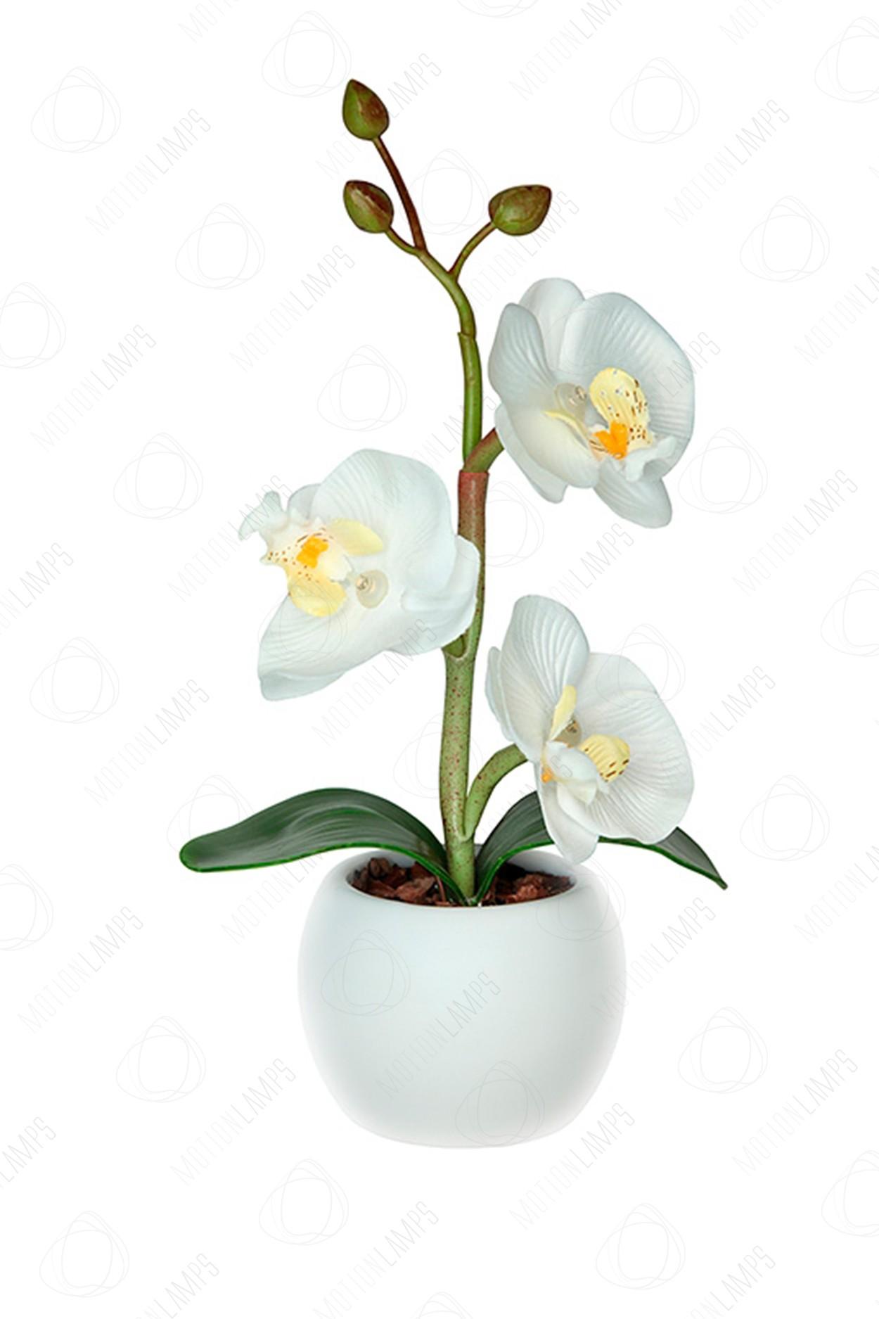 Светодиодный светильник Орхидея mini белая в Ярославле