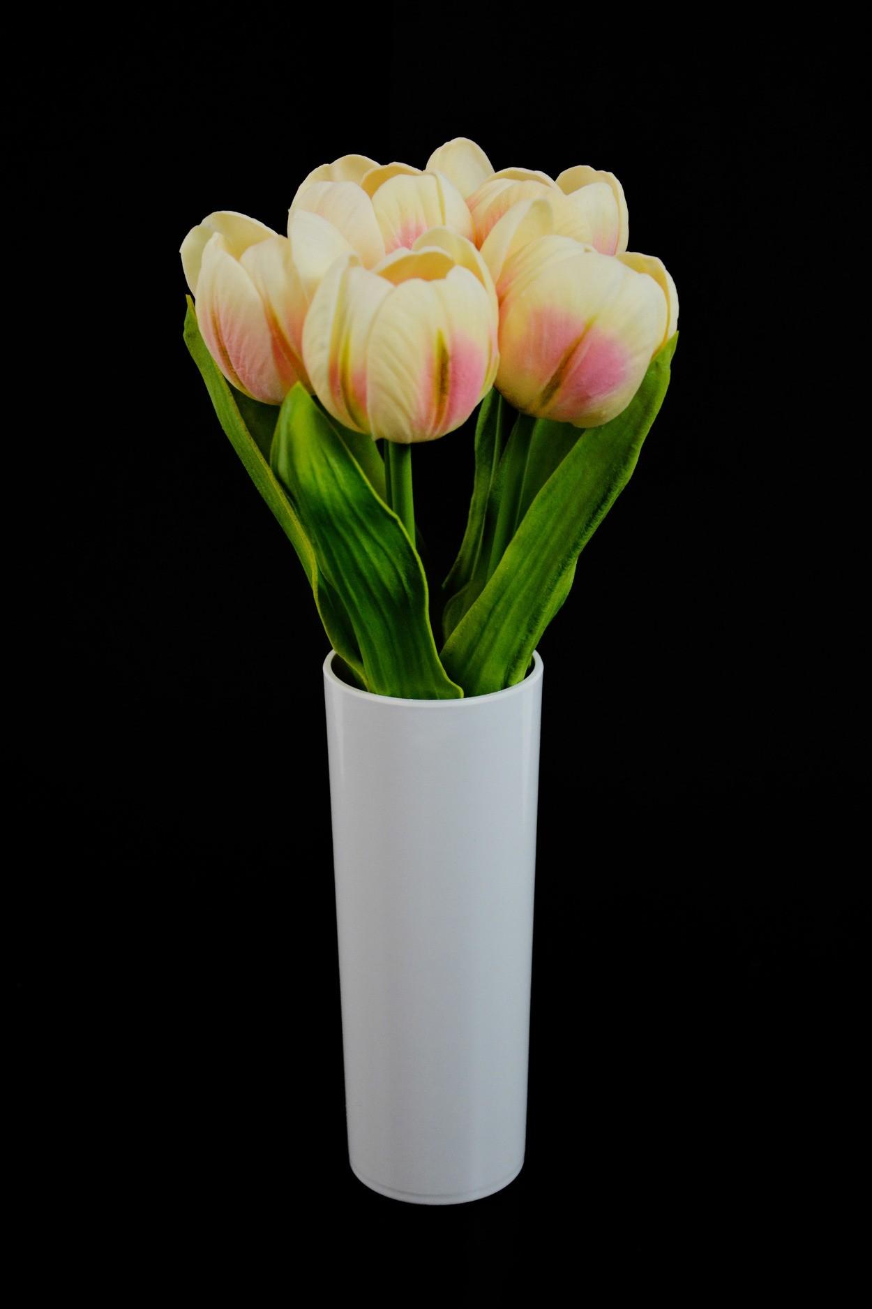 Светодиодные цветы Тюльпаны (кремовые) в Ярославле