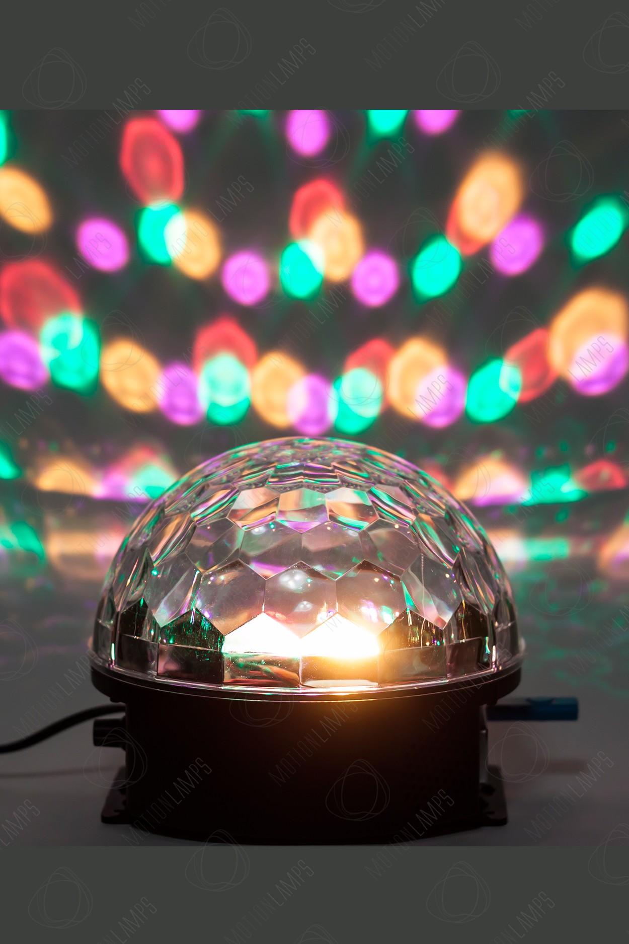 Музыкальный диско-шар LED Magic Ball Light с ДУ (Bluetooth) в Ярославле