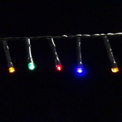 Светодиодная гирлянда на батарейках с таймером (мультиколор) Luca lights 83090 2760 см в Ярославле