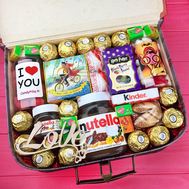 Подарочный набор сладостей в Ярославле
