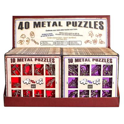 """Набор металлических головоломок""""Eureka! 3D Puzzle"""", 16 шт в дисплее в Ярославле"""