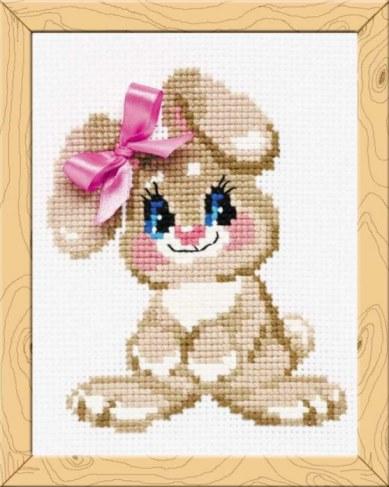 Набор для вышивания Riolis Premium Крольчонок НВ105 в Ярославле