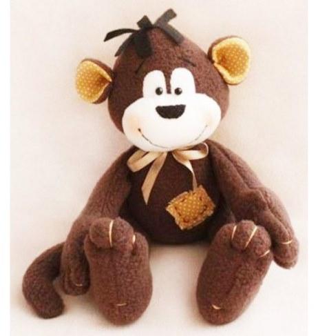 Набор Ваниль для шитья игрушки Monkey Story Обезьянка 16 см MN001 в Ярославле